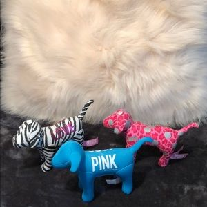 Victoria's Secret pink stuff dogs